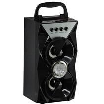 Caixa De Som Bluetooth / Usb / Fm e Carregador Max-207sp-a - Maxmidia