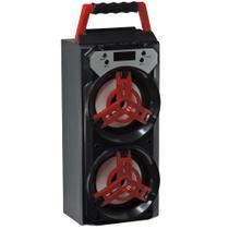 Caixa De Som Bluetooth Usb Fm Led e Carregador Max-665sp-a - Maxmidia
