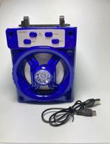 Caixa De Som Bluetooth Usb Micro Sd Radio Fm Lehmox Wireless -