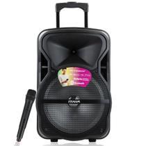Caixa de Som CM 600 BT Frahm USB/SD/P10/AUX Radio FM Bivolt -
