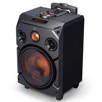 Caixa de Som Dazz Sounds Power - 400W RMS - USB - Bluetooth - Função Karaokê - Bateria Recarregável -