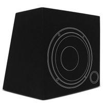 Caixa de Som Dutada 1 Alto Falante 8 Polegadas Duto 2 Polegadas 14 Litros Carpete Preto - R-Acoustic
