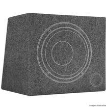 Caixa de Som Dutada 45 Litros Alto Falante 12 Polegadas Carpete Cinza - R-Acoustic