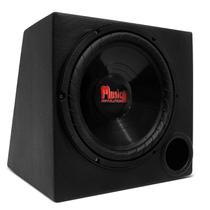 """Caixa de Som Dutada MusicAll 40 Litros 150W RMS 1 Subwoofer 12"""" Courvin Carpete Preto -"""