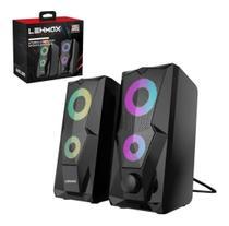 Caixa De Som Gamer Pc Notebook Hyper Gt-s3 Stereo Computer Sports Speaker - Lehmox