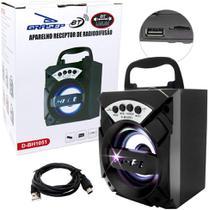 Caixa De Som Grasep Sem Fio Portátil Bluetooth 5.0 D-BH1051 -