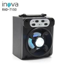 CAIXA DE SOM INOVA RAD - 7150 Portatil Bluetooth -