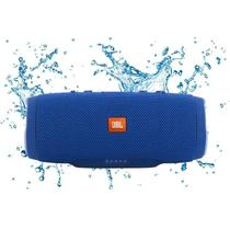 Caixa de Som JBL Charge 3, Bluetooth, Azul