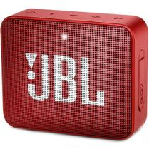 Caixa de Som JBL Portátil Bluetooth Vermelha - Go2 -