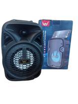 Caixa De Som Karaoke Bluetooth Com Lindo Microfone - Altomex