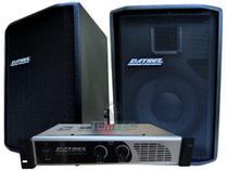 Caixa de som kit 2 passiva 150w 1 potência 200w profissional - Datrel