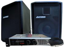 Caixa de som kit 2 passiva 200w 1 potência 300w profissional - Datrel