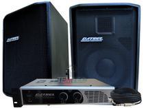 Caixa de som kit 2 passiva 250w 1 potência 400w profissional - Datrel
