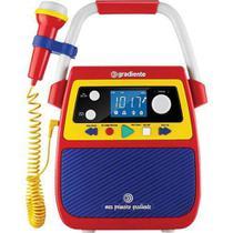Caixa de Som Meu Primeiro Gradiente Infantil Karaoke Bivolt -