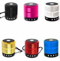 Caixa de Som Mini Speak Bluetooth para MP3 Player / Cartão SD/TF / Rádio FM / Pen Drive - Importador