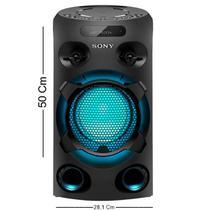 Caixa De Som Mini System Sony Mhc-v02d Dvd/nfc -