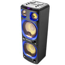 """Caixa de Som Mini Torre 12"""" Multilaser USB Bluetooth Rádio FM 2000W RMS SP343 -"""