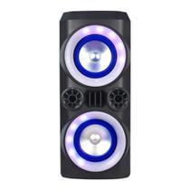 Caixa de Som Mini Torre Neon X 300W BT/AUX/USB/FM Multilaser SP379 -