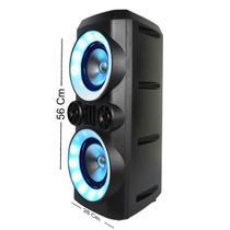Caixa De Som Mini Torre Neon X 300w Sp379 Multilaser -