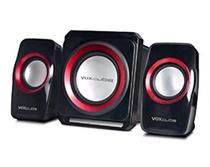 Caixa De Som Multimidia  Subwoofer PC USB SD MP3 Computador pc 2.1 18w Bluetooth Fm Sd P2 18W - Infokit