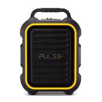 Caixa De Som Multiuso Bt, Fm, Aux, Sd, Usb, Mic Preto Pulse - SP295 -
