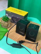 Caixa de som para notbook e computador - T-WOLF