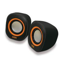 Caixa De Som Para PC e Notebook Speaker Round OEX SK100 -