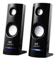 Caixa de som para Pc mini caixa de som Notebook 6w RMs Mox - Mox Dotcell