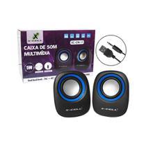 Caixa de Som para PC  X-Cell XC-CM-11 -