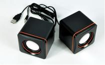 Caixa de Som PC  2.0 - Multimedia Mini Digital Speaker -