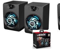 Caixa De Som Pc Game Lehmox Gt-S1 Rgb Hyper Gt Original -