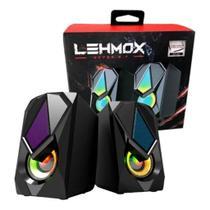 Caixa de Som Pc Leemox GT-S2 - Lehmox