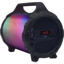 Caixa de som portátil 24W Myzooka RGB bluetooth (SKP-S010PBT/RGB) - Mymax