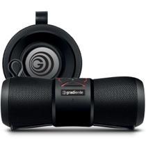 Caixa de som portátil Aqua GSP-100 Preto Gradiente À prova d'água 20w Rms Bluetooth Bivolt -