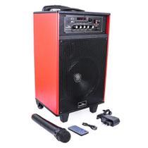 Caixa de Som Portátil Bluetooth C/ Microfone D-BH3202 Grasep -