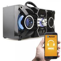 Caixa De Som Portátil Bluetooth M603 Mp3 + 1 Microfone - Infokit