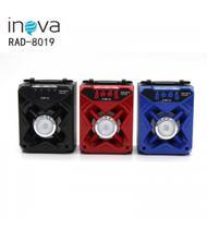 Caixa de Som Portátil Bluetooth Recarregável 8w Rad 8019 - Inova