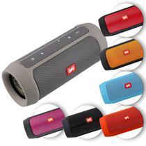 Caixa de Som Portátil Bluetooth Wireless USB Micro SD Auxiliar P2 Rádio FM 15W Storm 2 Shutt -