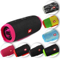 Caixa de Som Portátil Bluetooth Wireless USB Micro SD Auxiliar P2 Rádio FM 20W Storm 3 Shutt -
