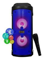 Caixa De Som Portátil Caixinha Bluetooth Microfone Rádio Fm - X Zang