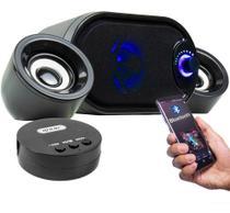Caixa De Som Portátil Com Bluetooth Estereo - Knup -