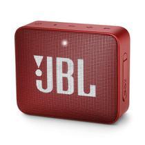 Caixa de som portátil JBL GO 2 com Bluetooth 3W Vermelha -