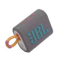 Caixa de Som Portátil JBL GO 3 Bluetooth 5.1 À Prova D'água e Poeira IP67 Cinza -