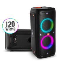 Caixa de som portátil para festas com Bluetooth e efeitos de luzes JBL PartyBox 300 -