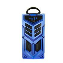 Caixa De Som Portátil Sem Fio Com Microfone - Azul - RAD-8168 - Inova -