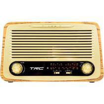 Caixa de Som Portátil TRC 35W Retrô TRC 212 Bluetooth USB -