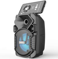 Caixa de Som Portátil Wireless Bluetooth Kimiso KMS-1005 - PRETO -