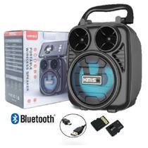Caixa de Som Portátil Wireless Bluetooth Kimiso KMS-1182 -