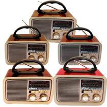 Caixa De Som Rádio Retro XDG-32 - Xtrad