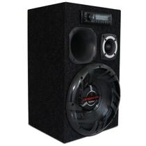 "Caixa de Som Residencial Bob Portátil Bivolt Bomber 350W 12"" + Módulo + Fonte + MP3 Pioneer MVH-98UB - Kit Som E Vídeo"